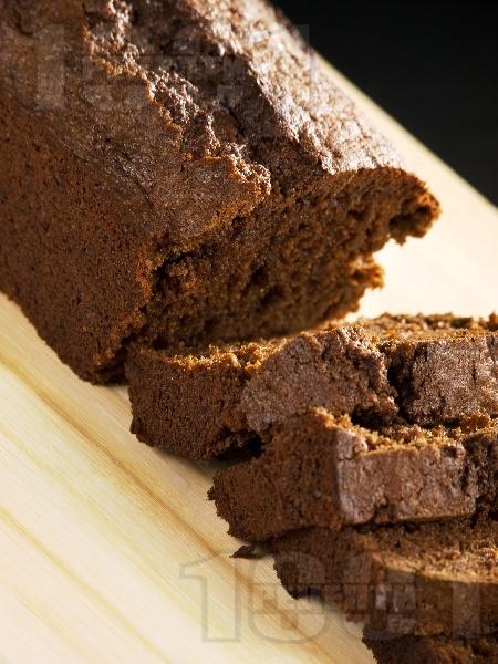 Бърз и лесен какаов сладкиш (кекс) с настъргана тиква и канела - снимка на рецептата